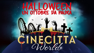 Halloween Cinecittà World 2018